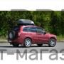 Автобокс на крышу Белый Turino Compact (360 л) Аэродинамический на крышу автомобиля