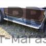 Эстонец пороги для Renault Duster с 2012 (нержавеющая сталь с алюминевой площадкой)