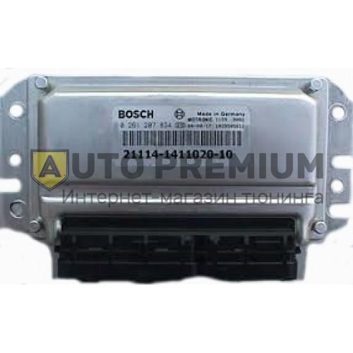 Контроллер ЭБУ BOSCH 21114-1411020-10 (VS 7.9.7). ВАЗ 2110 8-ми кл. 1.6 л. «Евро-3» (2 датчика кислорода).